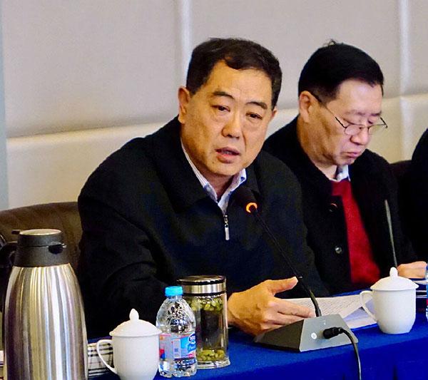 中国殡葬协会会长李建华