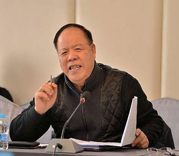 中国殡葬协会副会长郭青凡