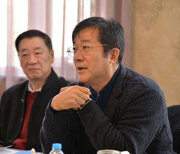 中国殡葬协会副会长王占勇