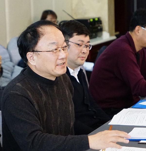 第二讨论组召集人王宏阶